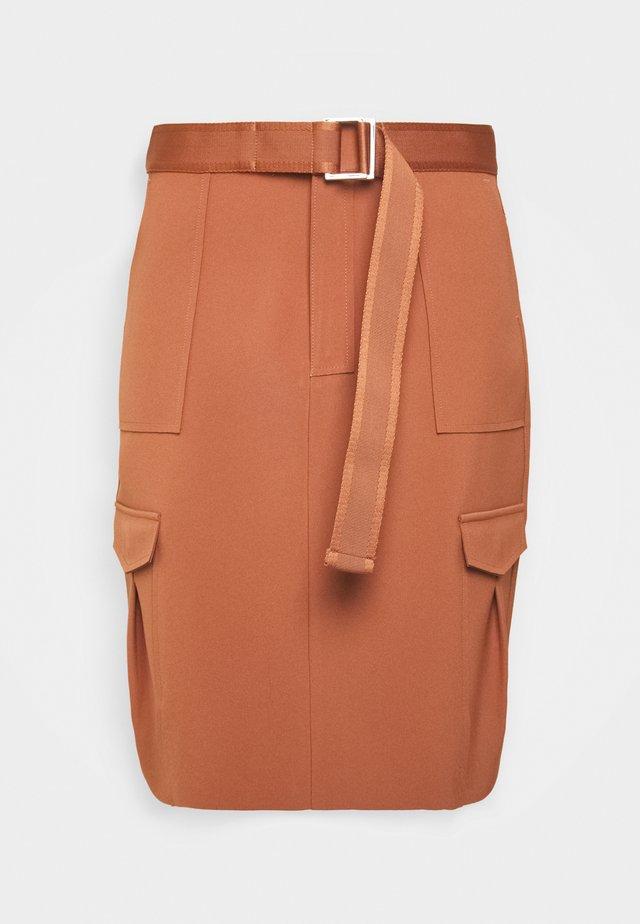 STRANDA SKIRT - A-line skirt - terracotta