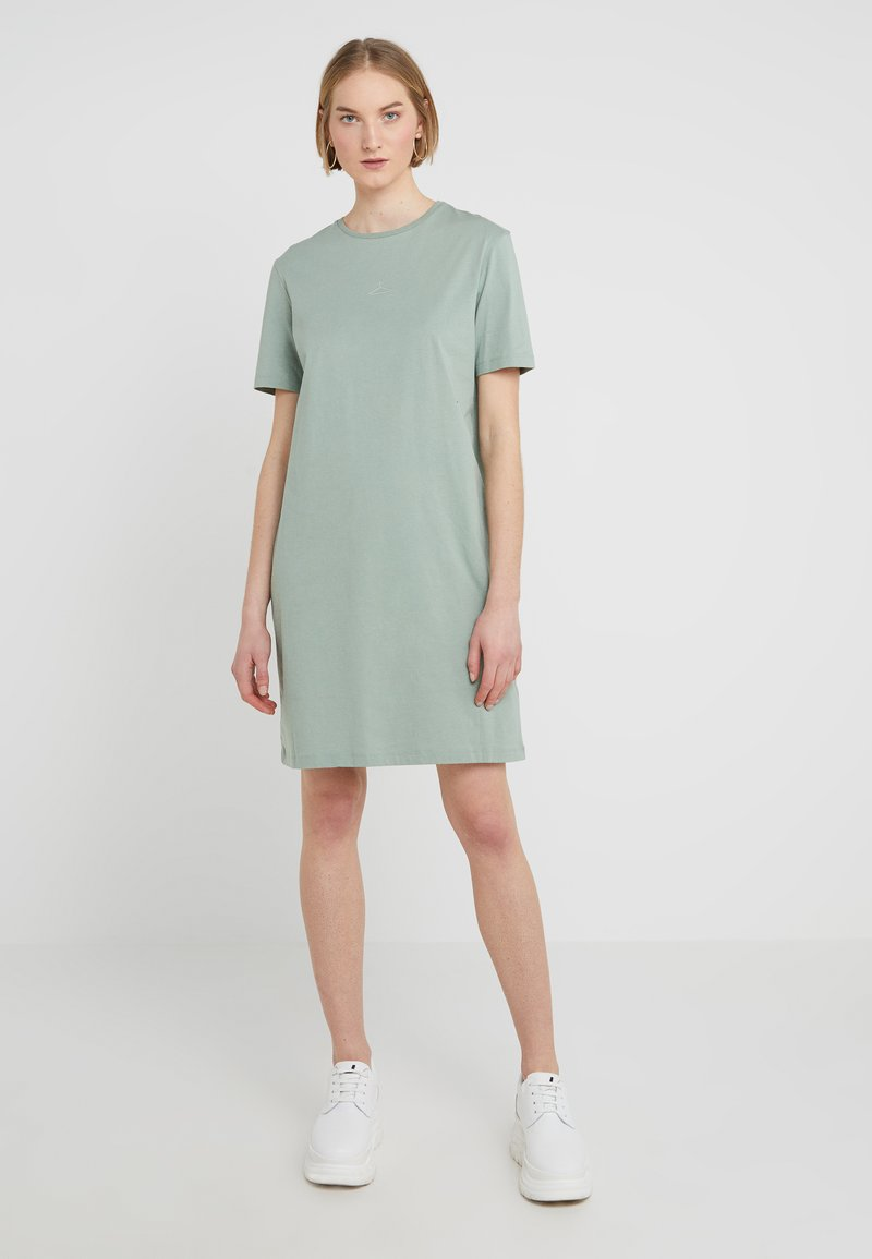 Holzweiler - SWAN DRESS - Jerseykleid - teal
