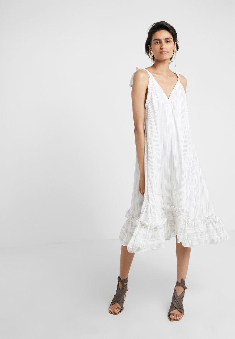 Holzweiler - SEL DRESS - Day dress - white stripes