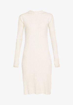 NOR DRESS - Gebreide jurk - ecru