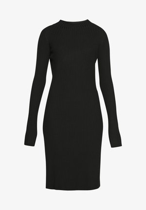 NOR DRESS - Jumper dress - black