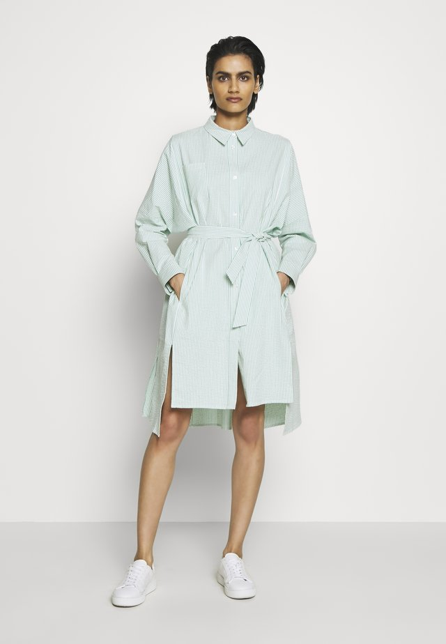 SEFFERN DRESS - Shirt dress - light green