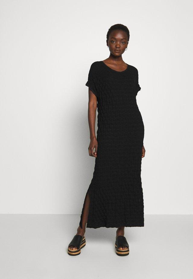 GATE DRESS - Maxi dress - black