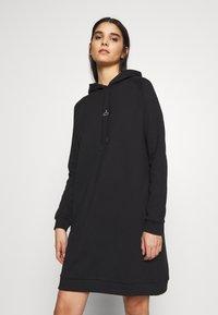 Holzweiler - HANG WIDE RAGLAN - Day dress - black - 0