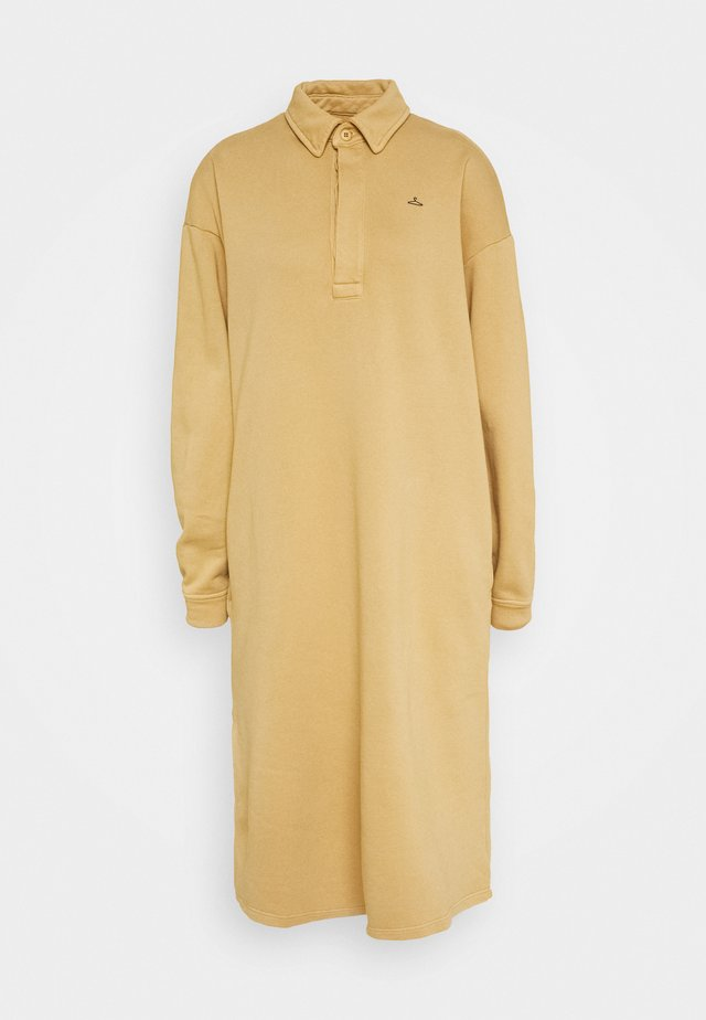 BISLETT DRESS VINTAGE - Vapaa-ajan mekko - washed beige