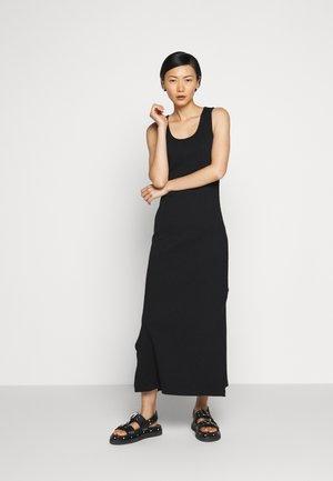 HIDRA DRESS - Vestito di maglina - black