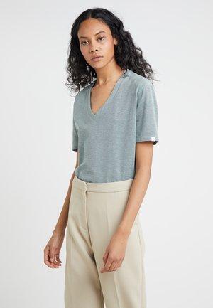 FJELL - T-shirt imprimé - teal melange