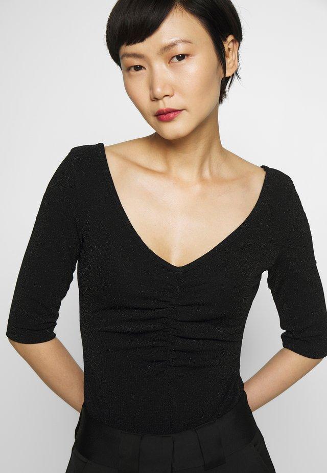 GLIMS - T-shirt imprimé - black