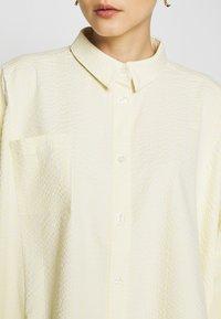 Holzweiler - SON - Button-down blouse - light yellow - 6