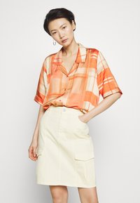 Holzweiler - BOGIRL  - Button-down blouse - orange - 0