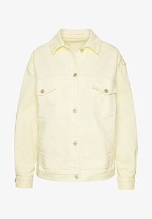 Džínová bunda - light yellow