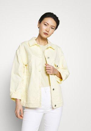 Jeansjakke - light yellow