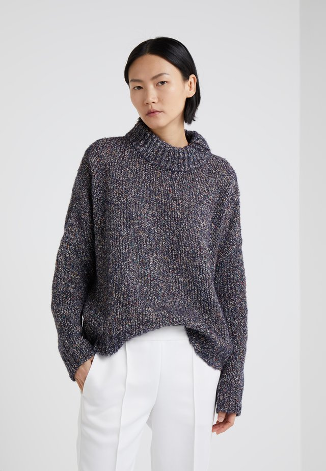 WAGGLE - Strickpullover - navy