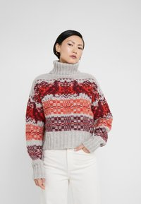 Holzweiler - CROPPED  - Pullover - bird red - 0