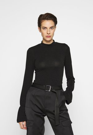 LEBO SWEATER - Strickpullover - black