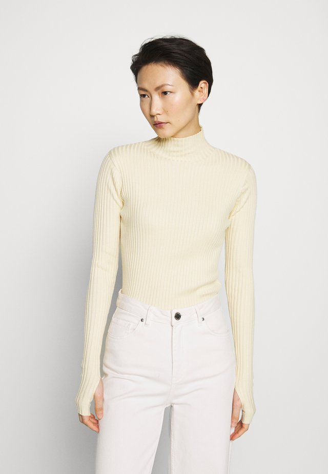 EBO - Strikpullover /Striktrøjer - light yellow