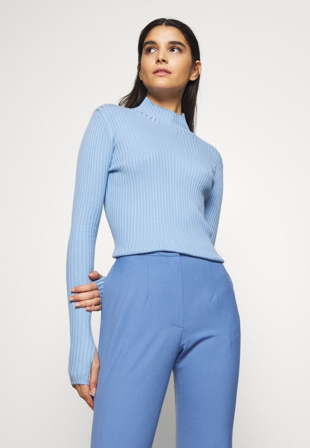 EBO KNIT - Strickpullover - blue