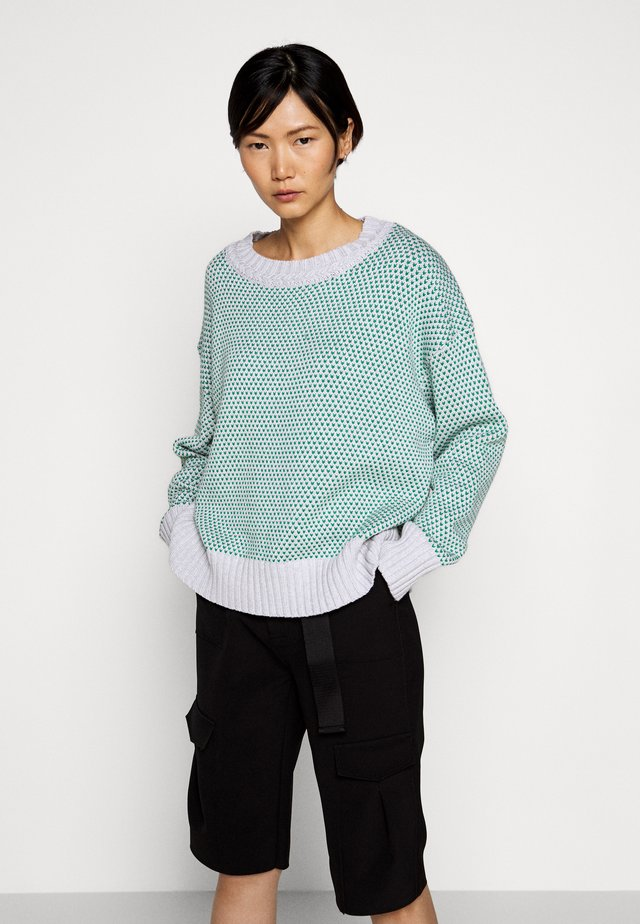 MARIBOES - Strickpullover - green mix