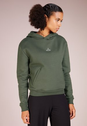 HANG ON HOODIE - Sweat à capuche - army