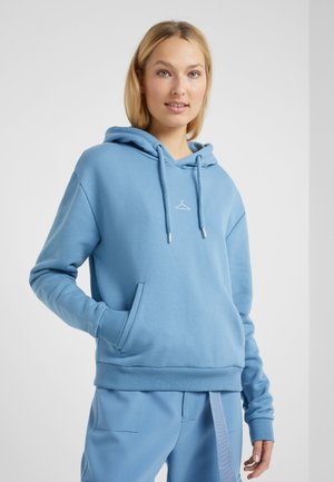HANG ON HOODIE - Sweat à capuche - blue