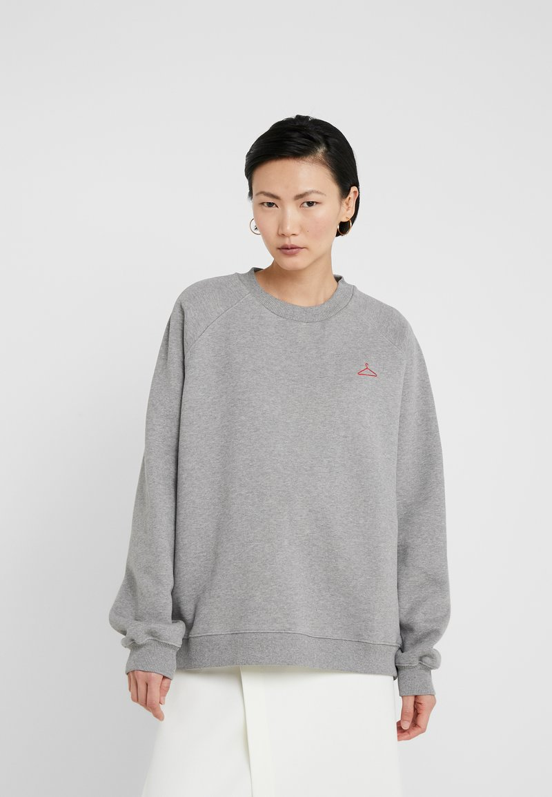 Holzweiler - KVARTZ - Sweatshirt - grey melange