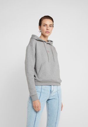 HANG ON - Kapuzenpullover - grey melange
