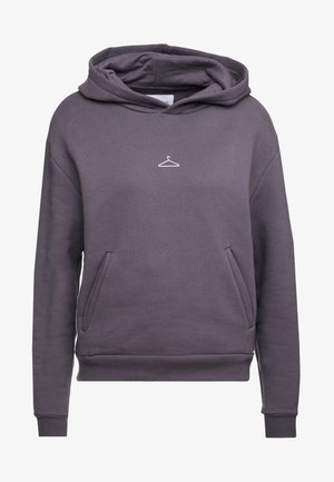 HANG ON HOODIE - Bluza z kapturem - dark grey