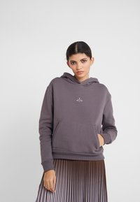 Holzweiler - HANG ON HOODIE - Hoodie - dark grey - 0
