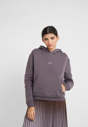 HANG ON HOODIE - Hoodie - dark grey