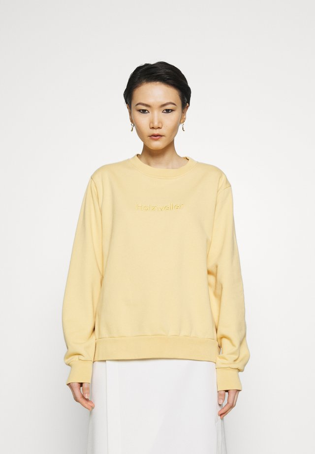 CREW SWEAT - Sweatshirts - yellow