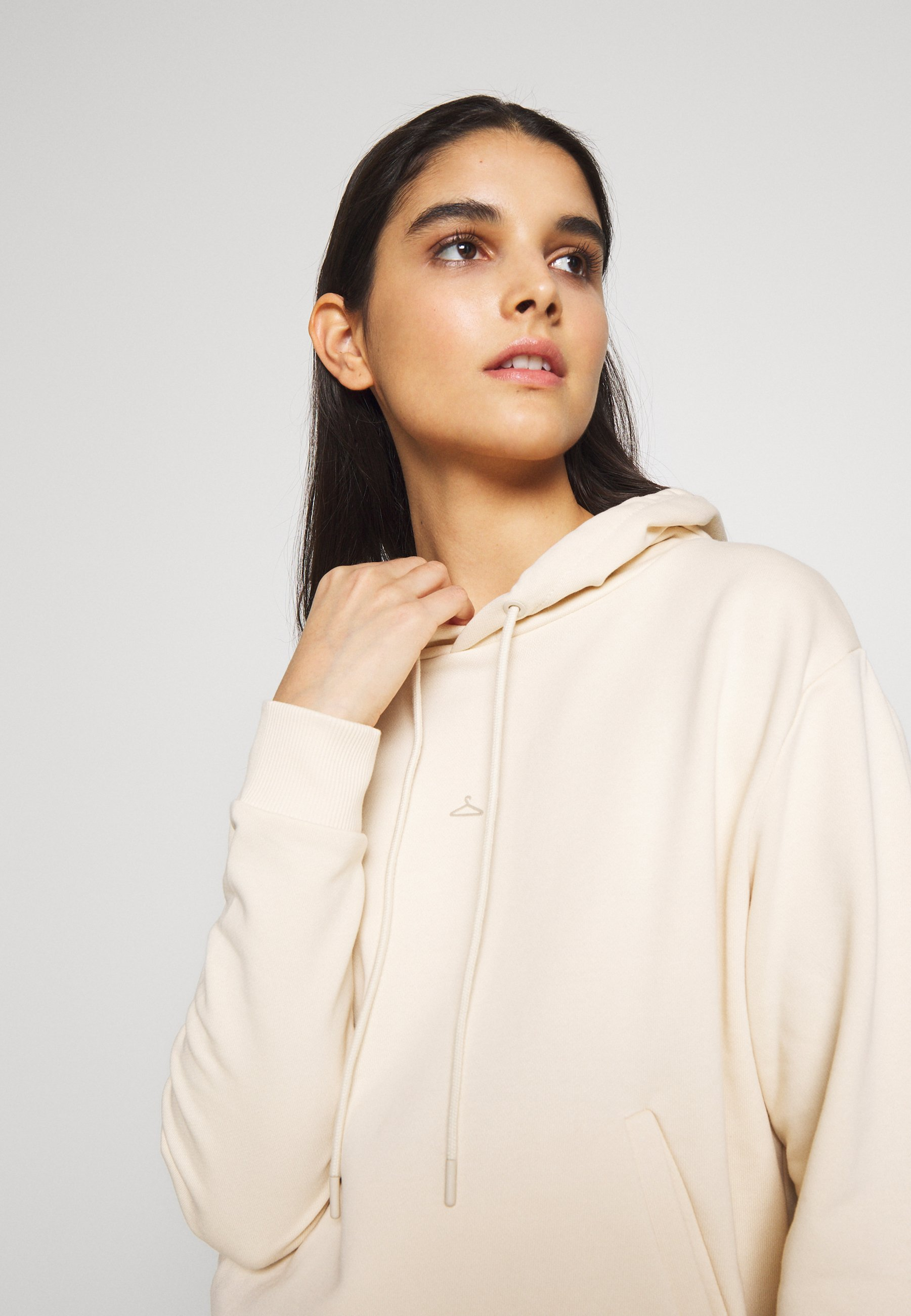 Holzweiler HANG ON HANGER - Hoodie - off-white