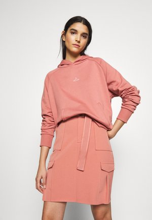 HANG ON RAGLAN - Kapuzenpullover - dust pink