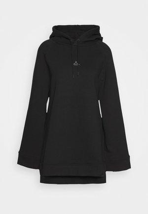 SISSEL - Felpa con cappuccio - black