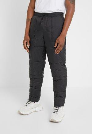 FLAT TROUSER - Pantaloni - black