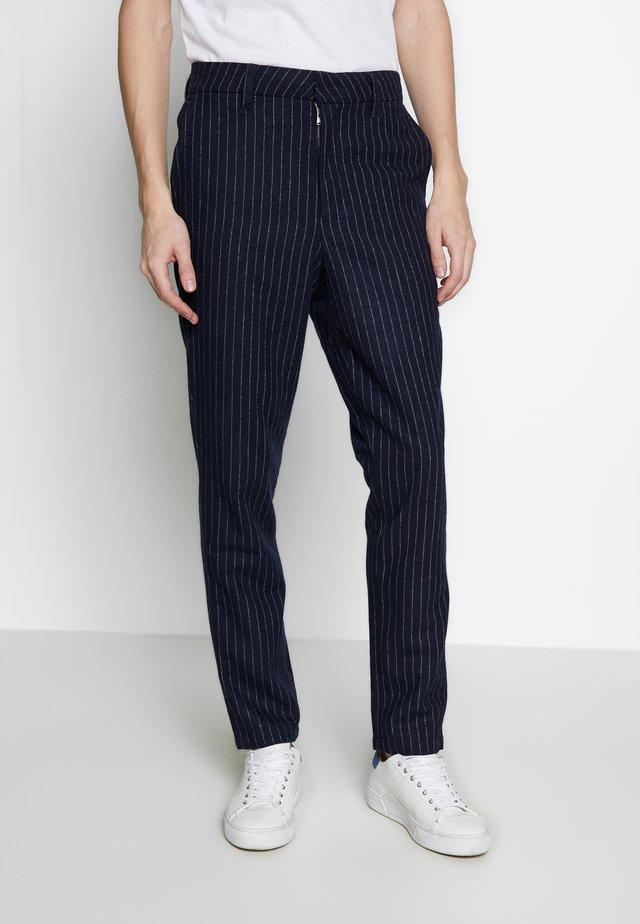 FIG TROUSER - Pantaloni - navy