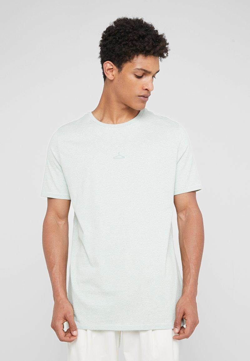 Holzweiler - HANGER TEE - Basic T-shirt - teal melange