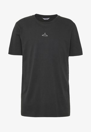 HANGER TEE - T-shirts print - washed black/white hanger