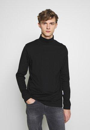 ROLLNECK HANGER - T-shirt à manches longues - black