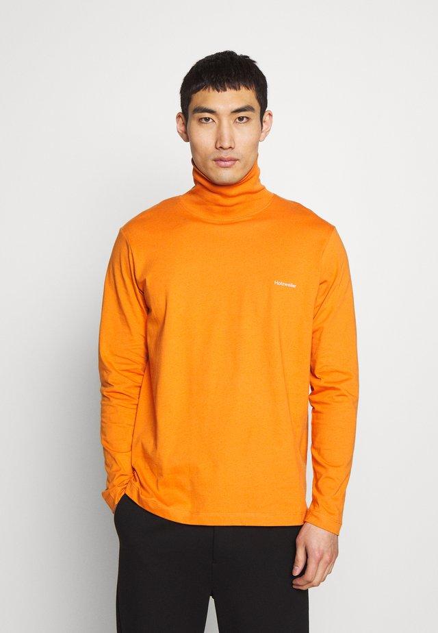 LASSA - T-shirt à manches longues - orange