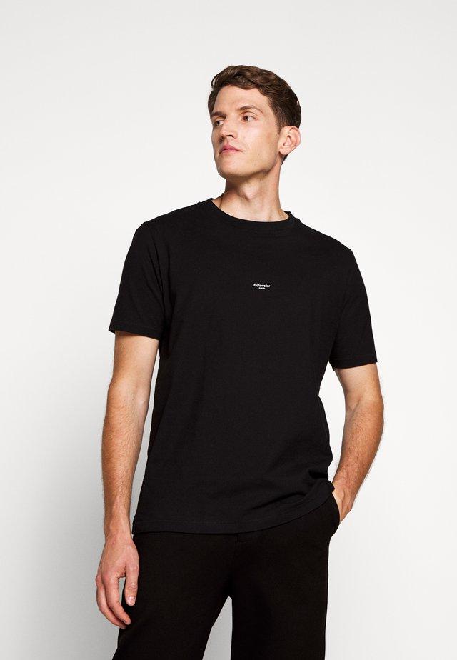 LIVE OSLO TEE - Jednoduché triko - black