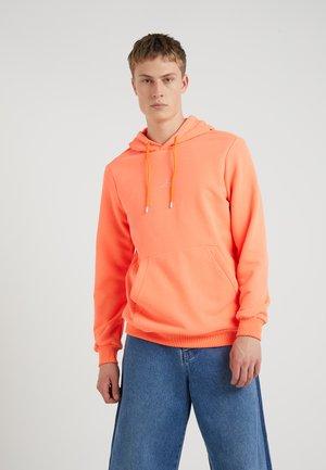 HANGER NEON - Sweat à capuche - neon orange