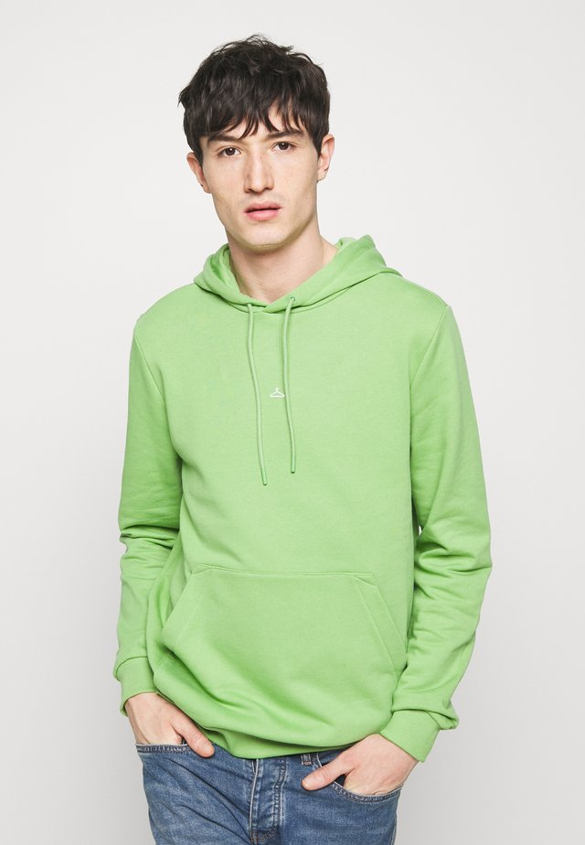 HANGER HOODIE - Bluza z kapturem - light green