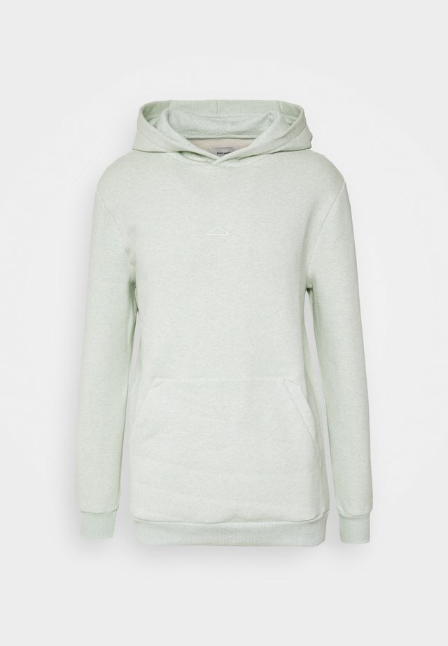HANGER HOODIE - Mikina s kapucí - mint green