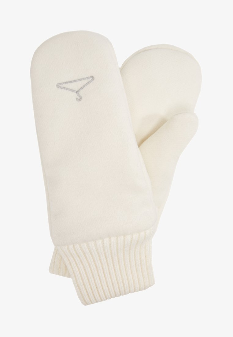 Holzweiler - COMMITTED MITTEN - Moufles - white