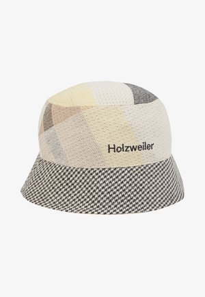 PAFE BUCKETHAT CHECK - Hoed - yellow check
