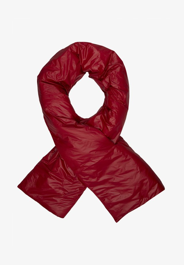 BIG PUFFED SCARF - Sciarpa - red