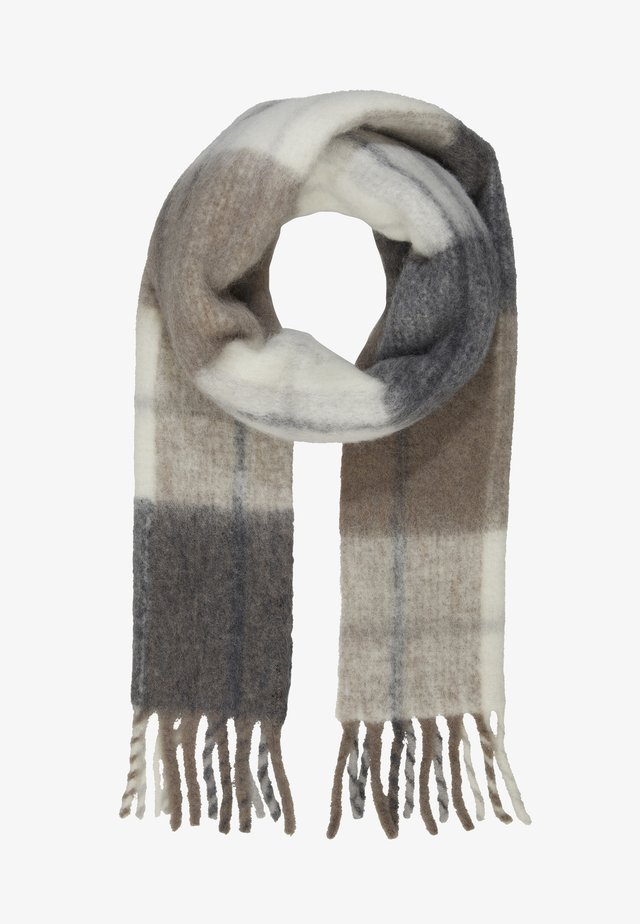 ASTER CHECK - Scarf - mimosa