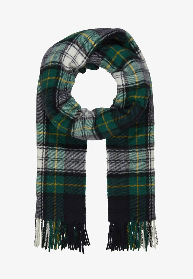 DIPPER CHECK - Scarf - cambell green