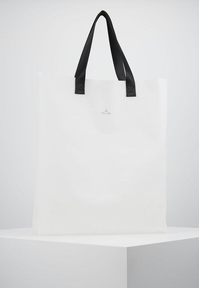 HANGER TOTE BIG - Shopping bag - seethrough