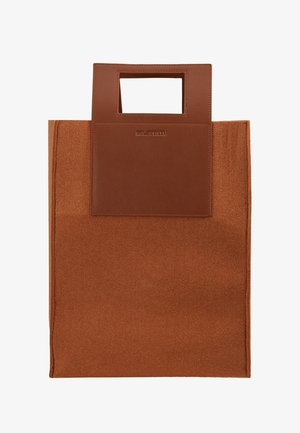 CARRY BIG BAG - Shopping bags - camel